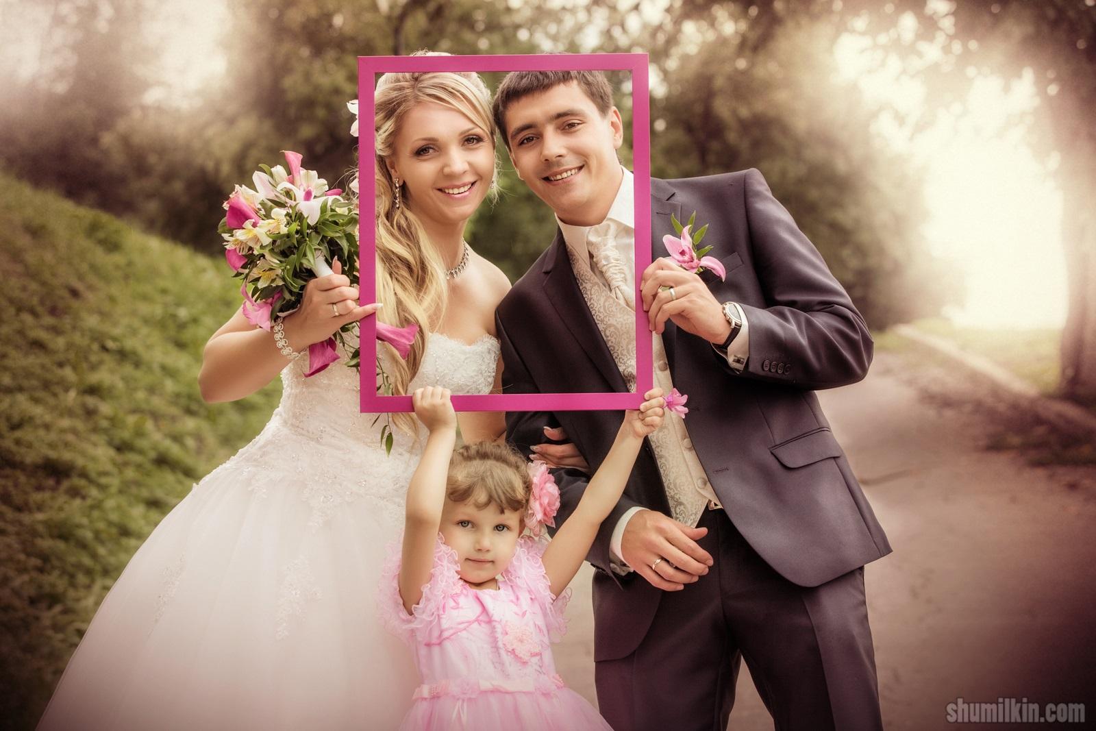 Заказать фото и видеосъемки на свадьбу