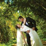 Съёмка свадьбы на природе