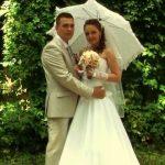 Съёмка свадебного клипа