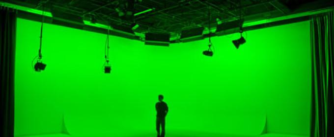 Зеленый фон для съемки видео и фото