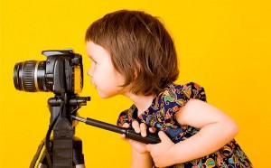Ребенок в видеостудии