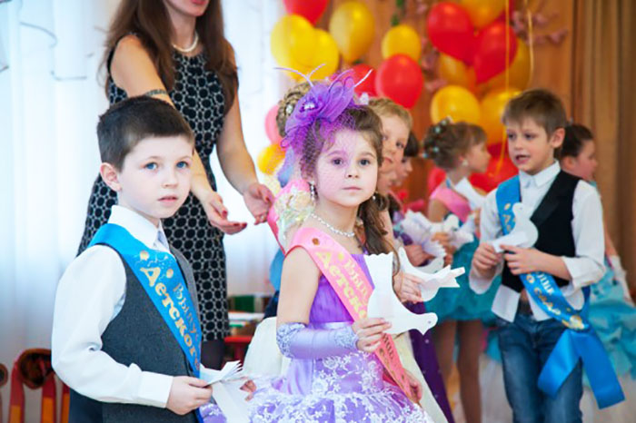 фото с выпускных в детских садах 2014