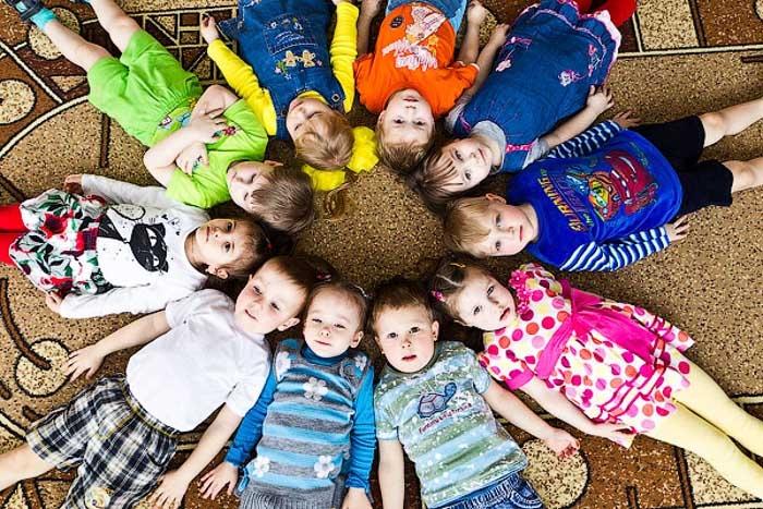 Как сделать фото детей в детском саду 750