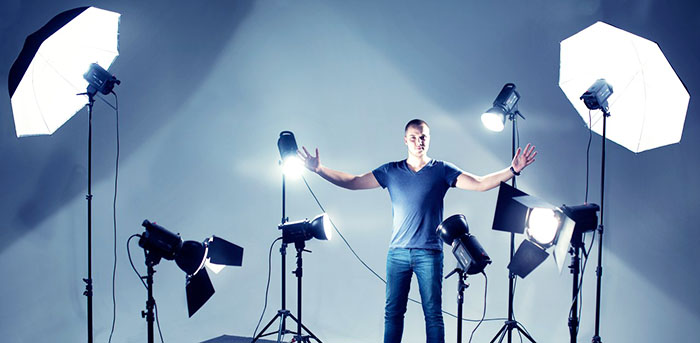 Освещение при видеосъемке своими руками