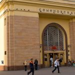 Видеосъемка у метро Семеновская