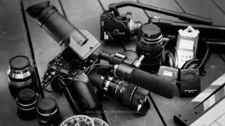 Видеокамера Sony FS-100 и объективы