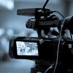 Видеооператор ведёт видеосъёмка