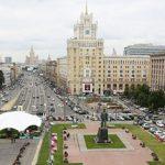 Видеосъемка у метро Маяковская