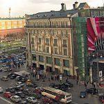 Видеосъемка у метро Тверская
