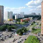 Видеосъемка у метро Беляево